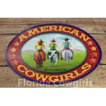 American Cowgirls Decal