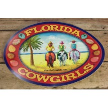 Florida Cowgirls Decal