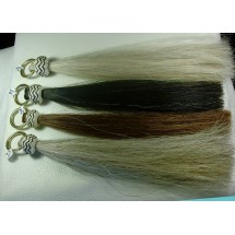 Sorrel Horse Hair Shufly Tassel with Rawhide Knot