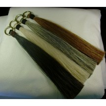 Horse Hair Shufly Tassel with Hitched Knot
