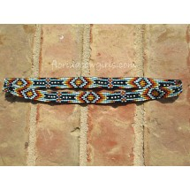 Beaded Stretch Hat Band Headband B1-K