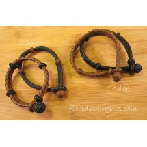 Leather with Knot Bracelet hh85