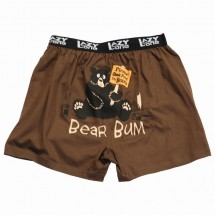 Final Sale Comical Boxer Kids Bear Bum