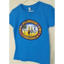 Florida Cowgirls Logo Tee Shirt